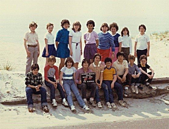 Roosevelt School's 1983 Grade 6