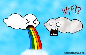 Puking Cloud