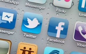 Facebook Twitter App Icons