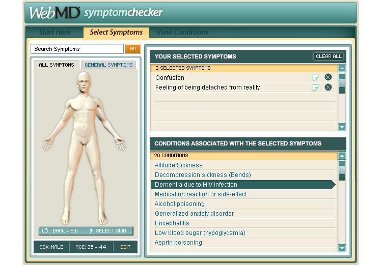 Sympton Checker
