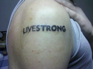 Livestrong Tatoo