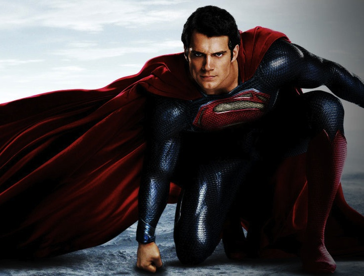 Cavill, Man of Steel