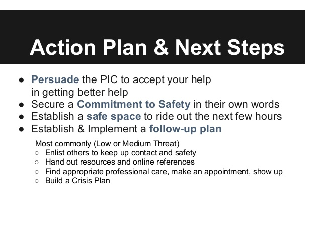 Action Plan & Next Steps