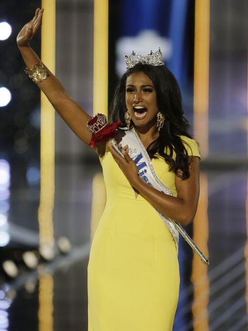 Miss America Nina Davuluri