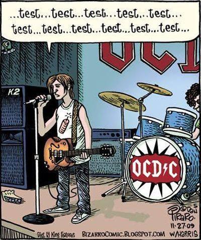 OCD guitarist