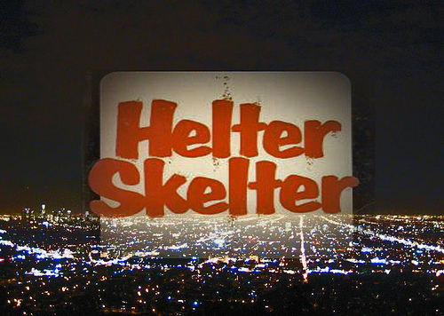 Hleter Skelter text over LA night skyline