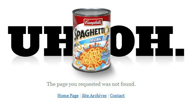 404 Spaghetti-Os