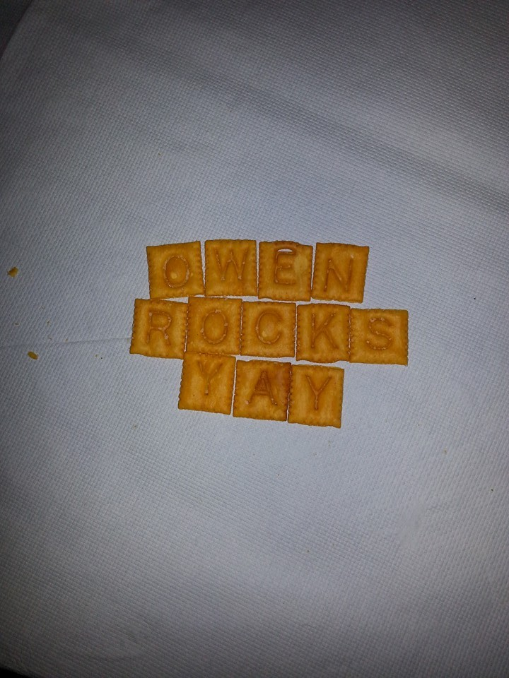 Owen Rocks Yah