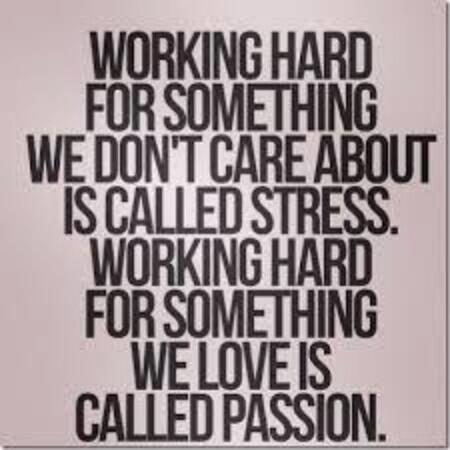 Working Hard Is Called Stress