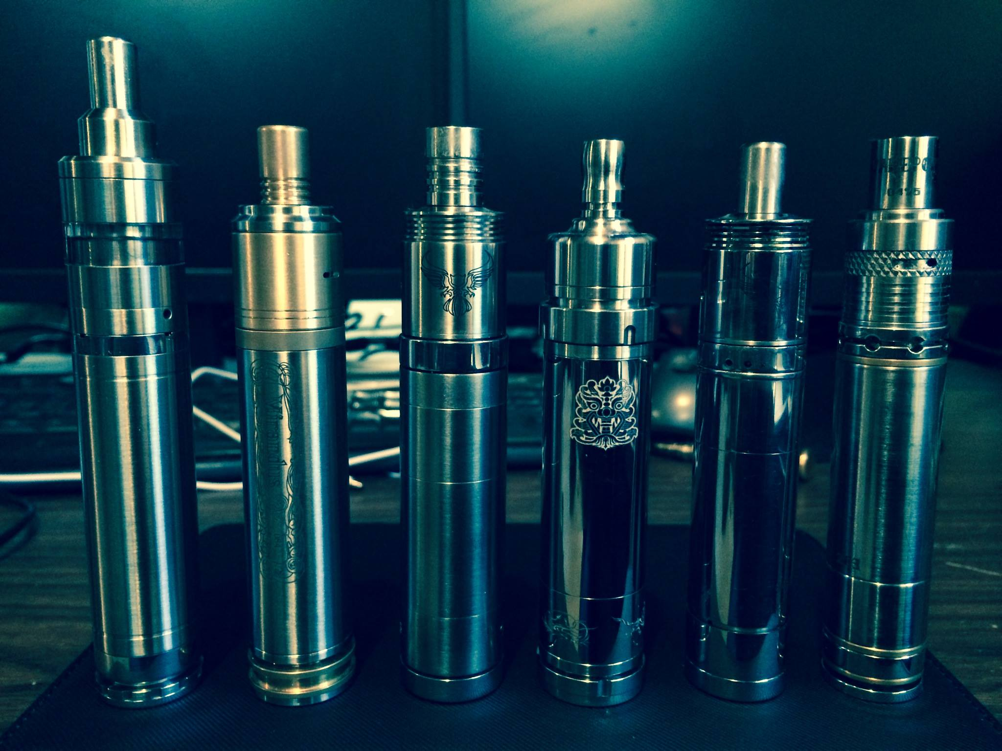 Martin Bos's vapor pipes