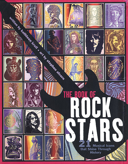 The Book of Rock Stars book cover