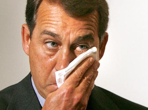 John Boehner Crying
