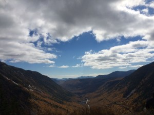 View from the top: Peak of Mt. Willard