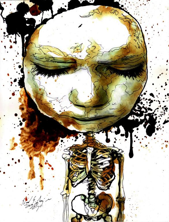 Observing Despair by EddieTheYeti