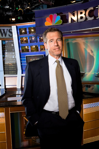 Brian Williams, NBC Nightly News file photo