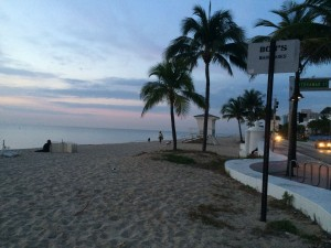Fort Lauderdale Beach at Sunrise
