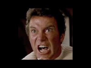 Captain Kirk yelling