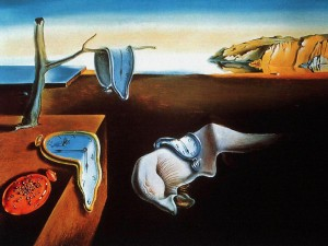 """Persistence of Time,"" by Salvador Dali"