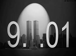 Sept. 11, with the twin towers as the 11